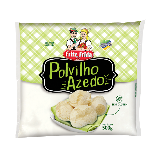Polvilho Azedo Fritz E Frida  500G