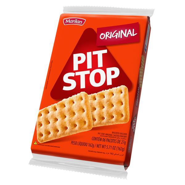 Biscoito PIT STOP Marilan Original 162g