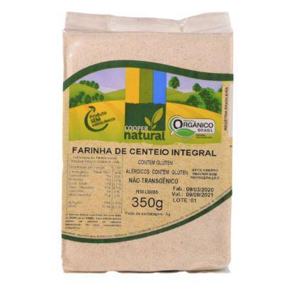 Farinha de Centeio Orgânica Coopernatural 350g