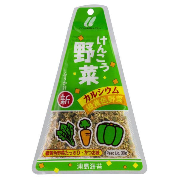 Tempero para Arroz Furikake Triângulo Verduras Urashima Pacote 30g
