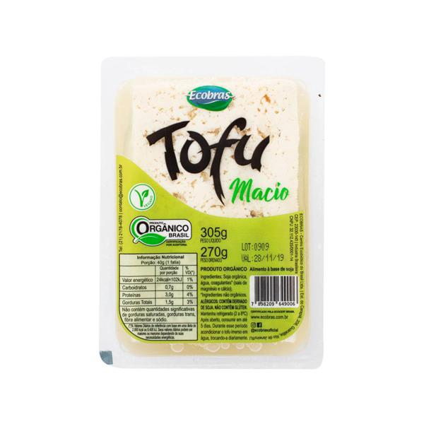 Tofu Soja Soft Orgânico ECOBRAS 270g