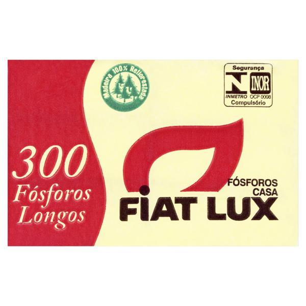 Fósforo de Segurança Longo Fiat Lux 6 Unidades