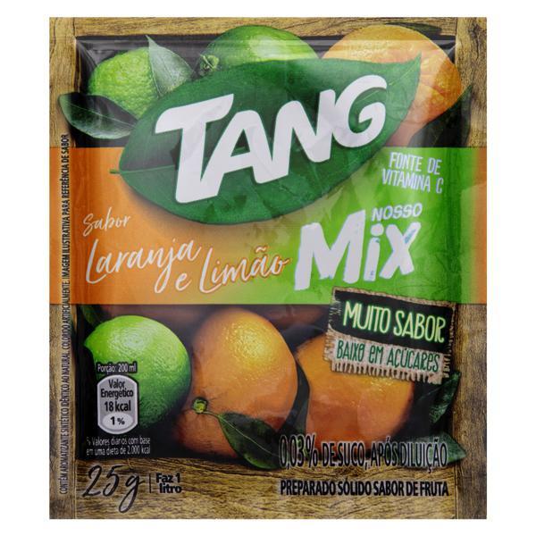 Refresco em Pó Laranja e Limão Tang Nosso Mix Pacote 25g