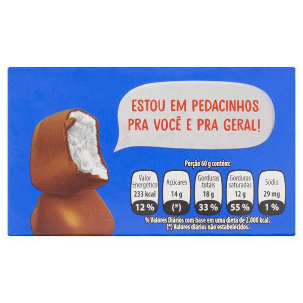 Sorvete Baunilha Cobertura Chocolate Kibon Eski-bon Mini Caixa 105g
