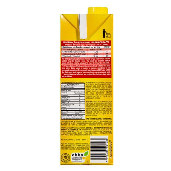 Néctar Misto Laranja Dafruta Premium Caixa 1l