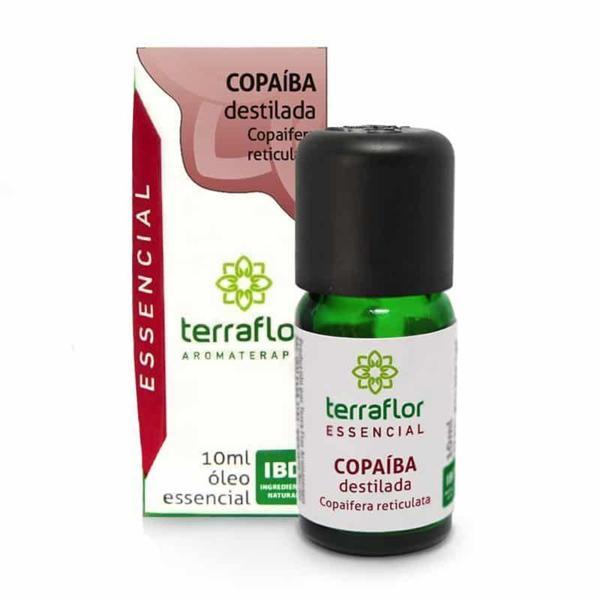 Óleo Essencial Copaíba Destilada 10ml - TERRA-FLOR