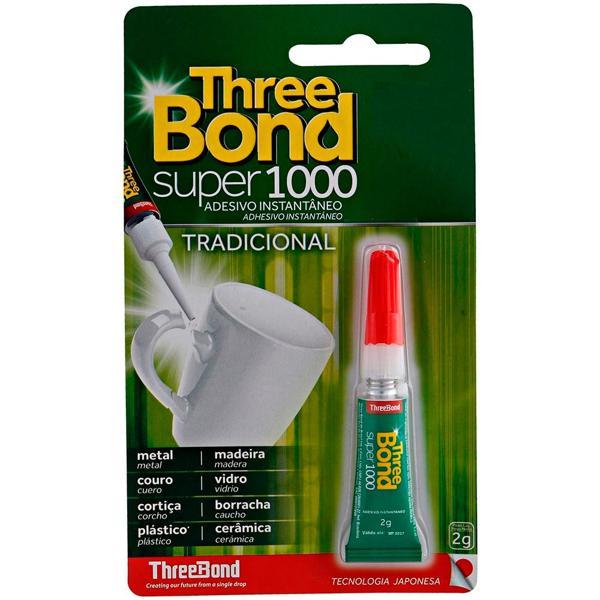 Adesivo THREE BOND Instantâneo Super 1000 2g