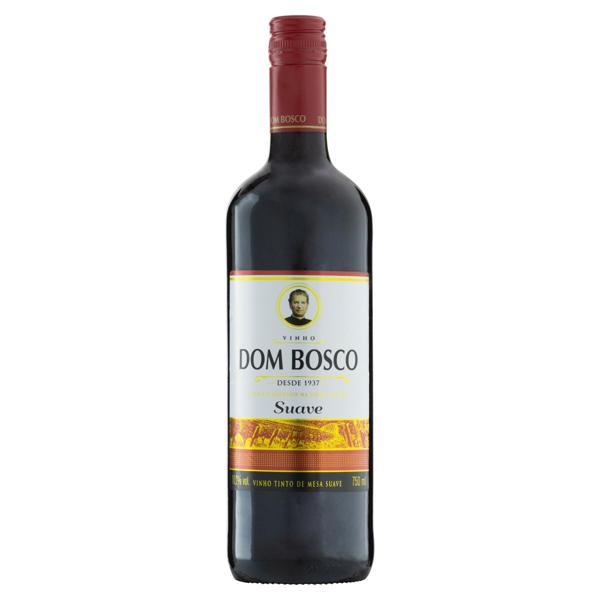 Vinho Brasileiro Tinto Suave Dom Bosco Serra Gaúcha Garrafa 750ml
