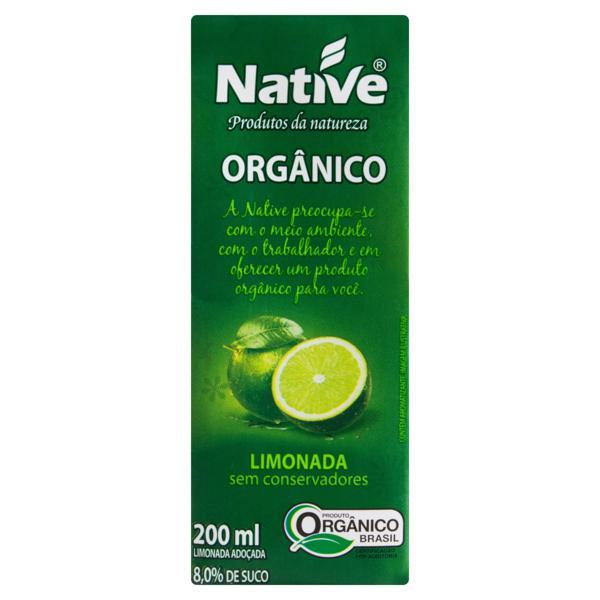 Suco Orgânico Limonada Native Caixa 200ml