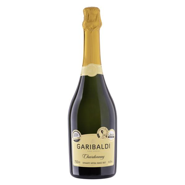 Espumante Brasileiro Branco Brut Garibaldi Chardonnay Serra Gaúcha Garrafa 750ml