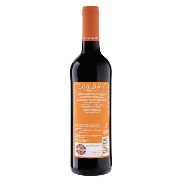 Vinho Português Tinto Seco Casal Garcia Douro Garrafa 750ml