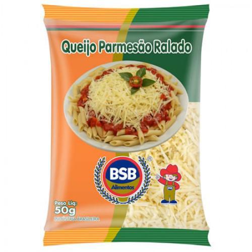 Queijo Parmesão BSB Ralado Fiapo 50g