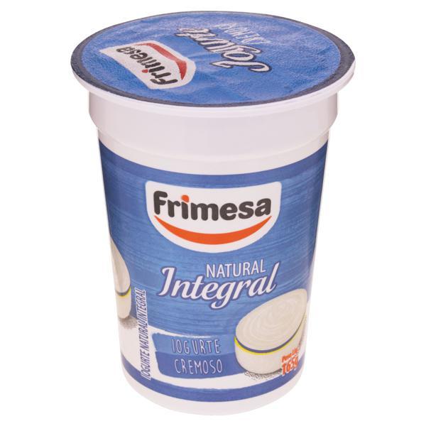 Iogurte Integral Cremoso Natural Frimesa Pote 165g