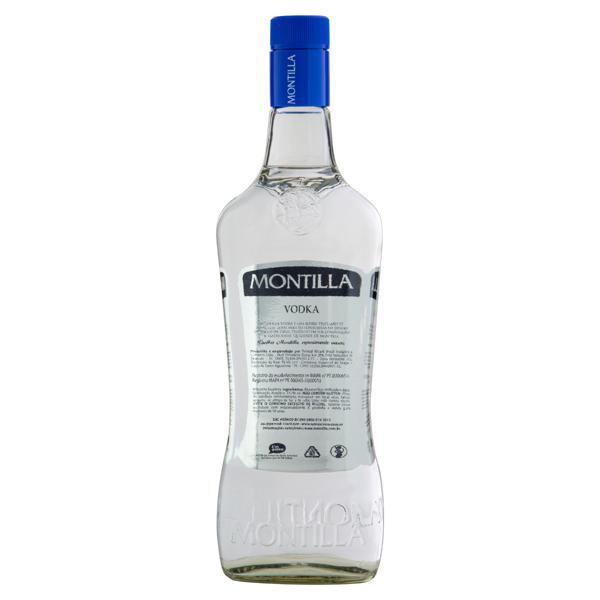 Vodka 3x Destilada Montilla Garrafa 1l