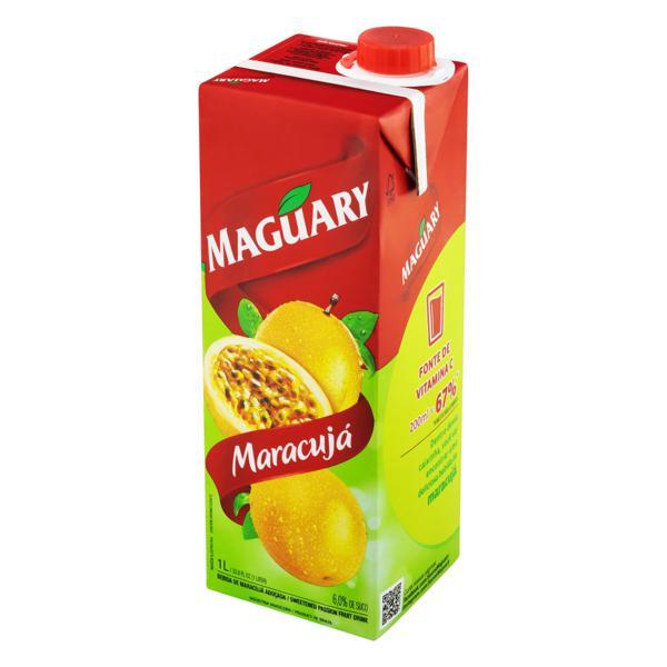 Bebida Adoçada Maracujá Maguary Caixa 1l