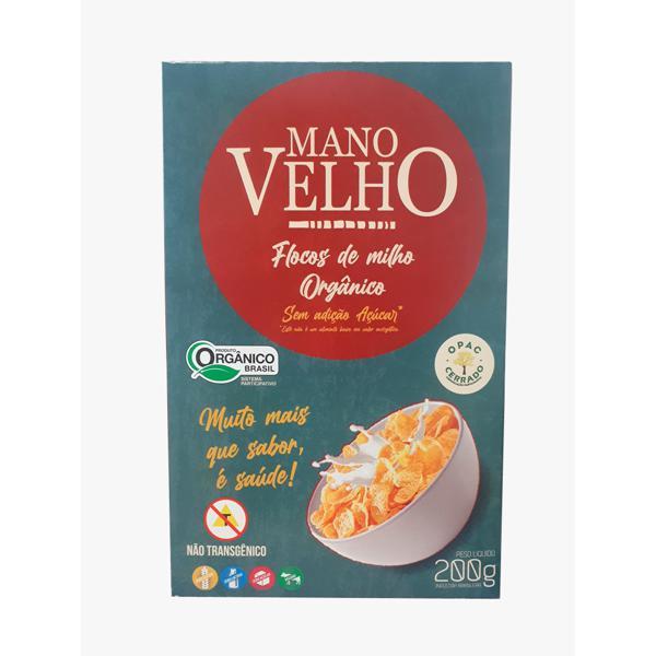 Cereal de Flocos de Milho Orgânico