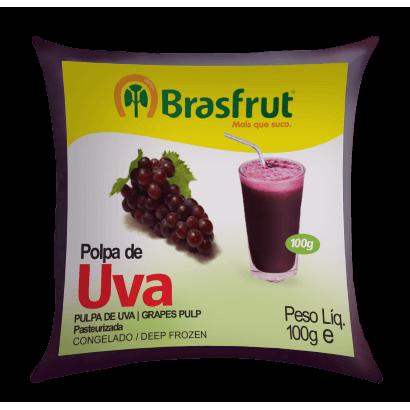 Polpa de Fruta BRASFRUT Uva 100g