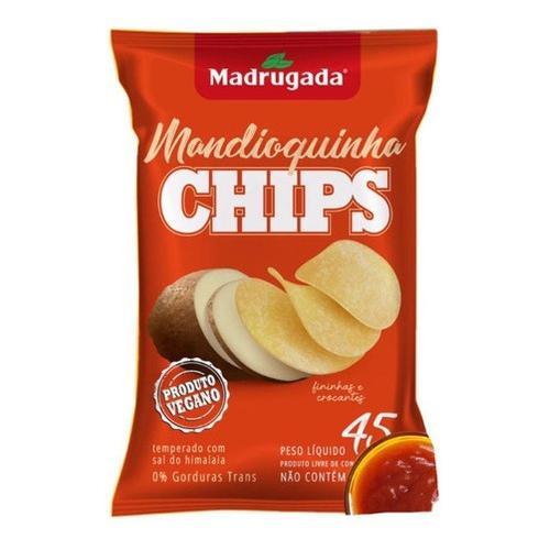 Chips Madrugada 45G Mandioquinha