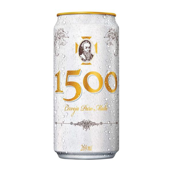 Cerveja 1500 Puro Malte 269Ml Lata