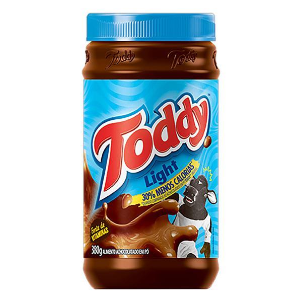 Achocolatado em Pó Light Toddy Pote 380g