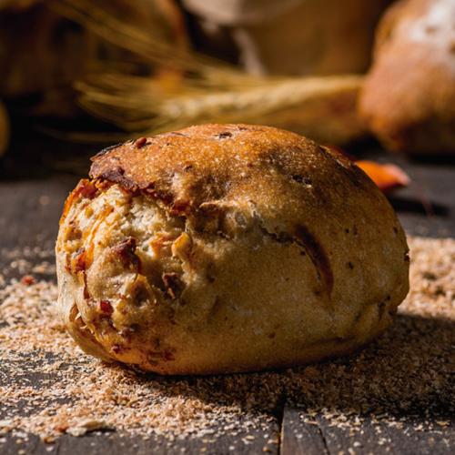 Pão de Cebola e Bacon (Levain)