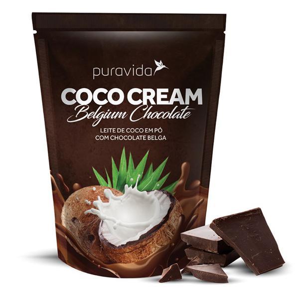 Leite de Coco em Pó Chocolate Belga - Puravida (250g)