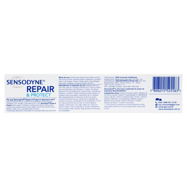 Creme Dental Sensodyne Repair & Protect Caixa 100g