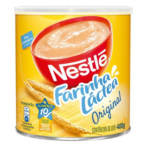 Farinha Láctea Original Nestlé Lata 400g