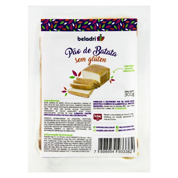 Pão de Batata Sem Glúten 300g - BELADRI