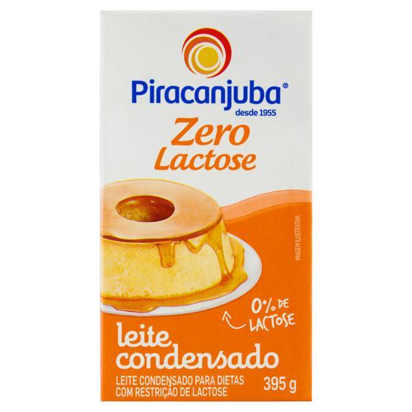 Leite Condensado Zero Lactose Piracanjuba Caixa 395g