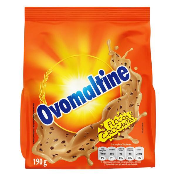 Achocolatado Flocos Crocantes Ovomaltine Pacote 190g