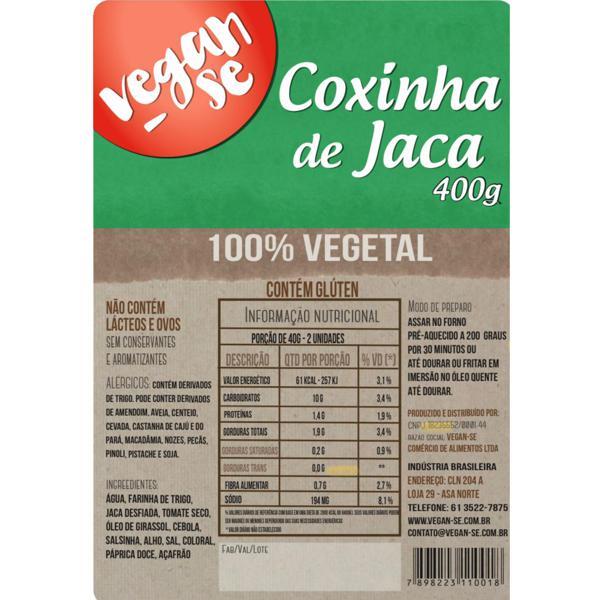 Coxinha de Jaca  400g
