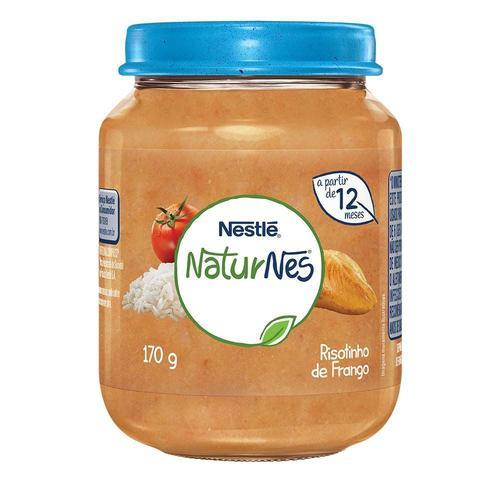 Alimento Nestle Infantil 170G Nacional Risot Fgo