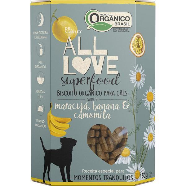 Biscoito Orgânico Superfood Para Cães Maracujá, Banana & Camomila 150g - Dr. Stanley