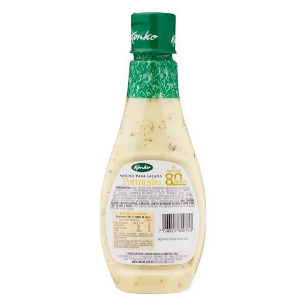 Molho para Salada Parmesão Kenko Squeeze 236ml