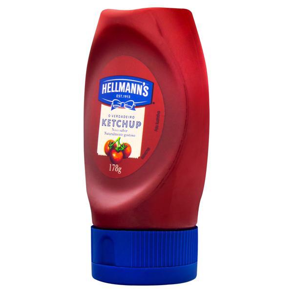 Ketchup Tradicional Hellmann's Squeeze 178g