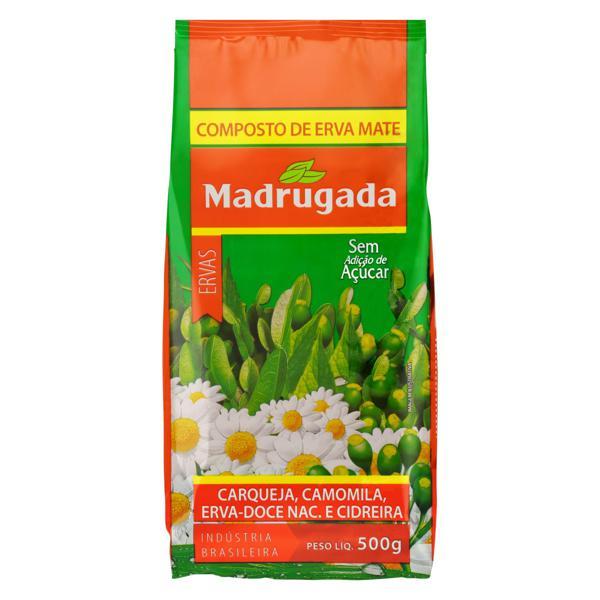 Composto de Erva-Mate com Ervas Madrugada Pacote 500g