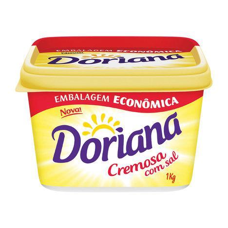 Margarina DORIANA Cremosa Com Sal 1Kg