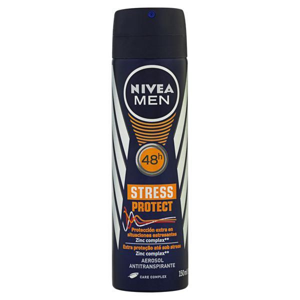 Antitranspirante Aerossol Nivea Men Stress Protect 150ml