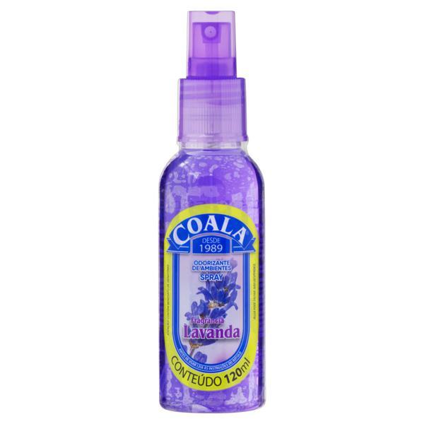 Odorizador de Ambiente Spray Lavanda Coala Frasco 120ml