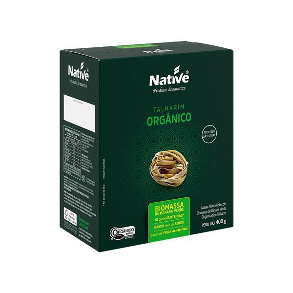 Talharim Biomassa de Banana Verde Orgânico 400g - Native