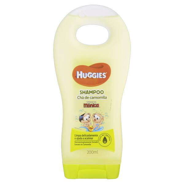 Shampoo Infantil Chá de Camomila Huggies Frasco 200ml