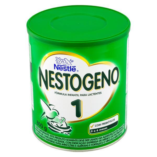 Fórmula Infantil para Lactentes 1 Nestlé Nestogeno Lata 800g