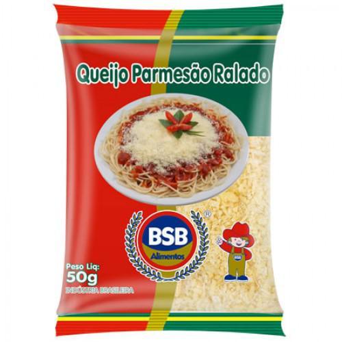 Queijo Ralado BSB ALIMENTOS Parmesão 50g