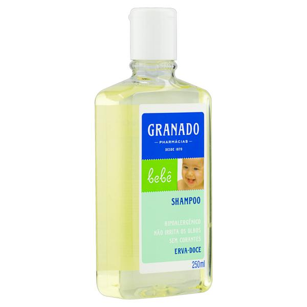 Shampoo Erva-Doce Granado Bebê Frasco 250ml