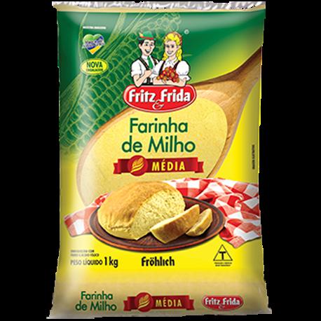Farinha de Milho FRITZ&FRIDA 1Kg Média