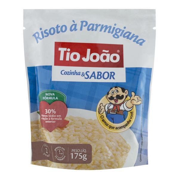 Risoto Semipronto Parmigiana Tio João Cozinha & Sabor Sachê 175g