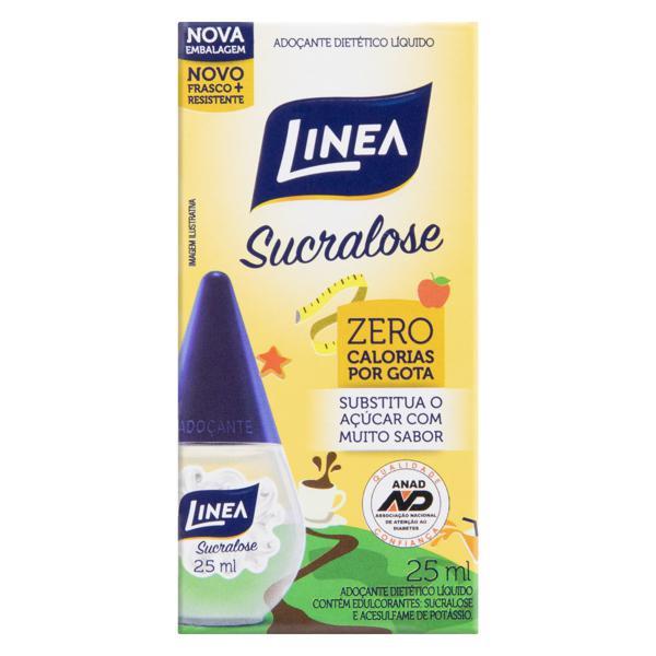 Adoçante Líquido Sucralose Linea Caixa 25ml