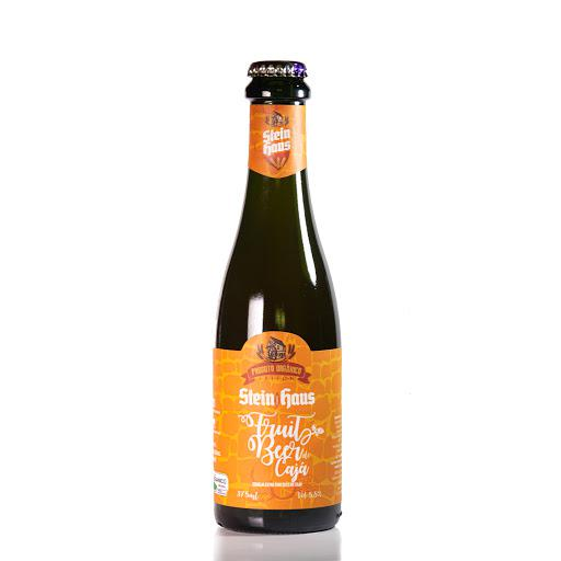 Cerveja Fruit Beer Witbier com Manga Orgânica 375ml - Stein Haus (Vencimento 30/06)