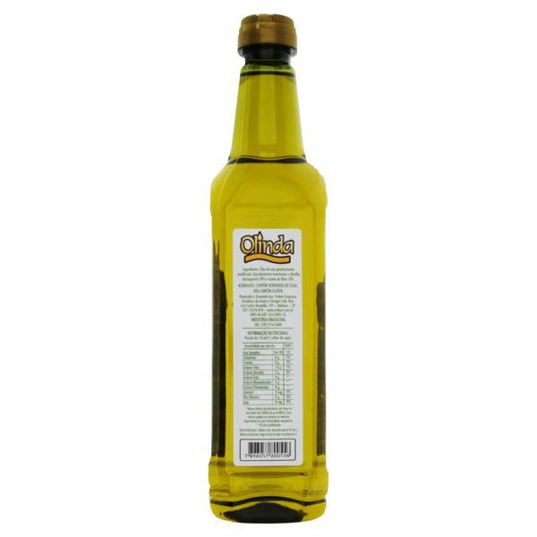 Óleo Composto de Soja e Oliva Olinda Garrafa 500ml